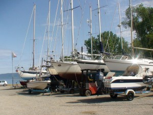 DimStef Marine Services Boat Parking Space North Evia Greece