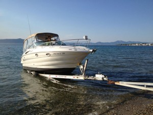 DimStef Marine Services Launch and Hauling Boat