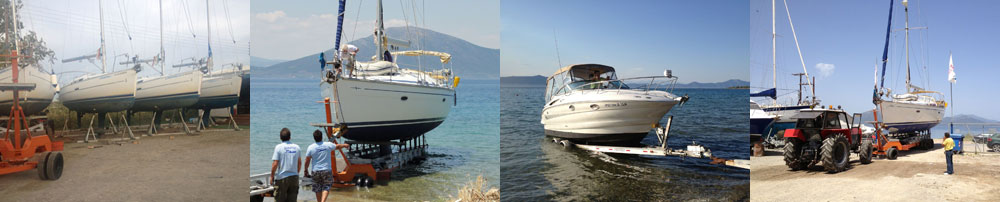 Dimstef Sail Boat Launch Orei North Evia Greece